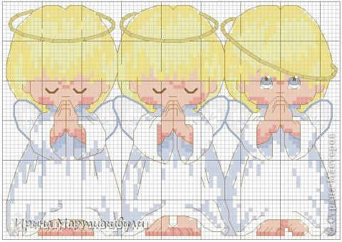 Три ангелочкав + 2 схемы фото 3