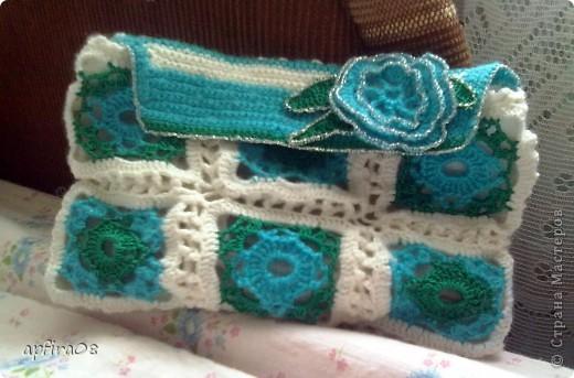вязаное пальто в ирландском стиле
