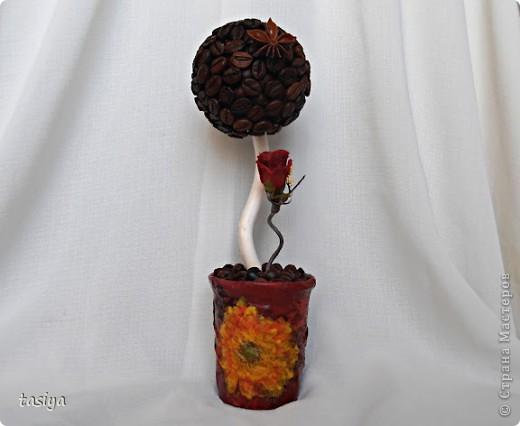 Привет девуленьки. Получила задание сделать 3 мааааленьких деревца (19,20,19 см) в разном стиле. Времени было дано сутки. Вот, что из этого вышло. Кстати, ооочень понравилось делать такие манюньки)))))))) фото 4