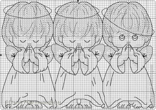 Три ангелочкав + 2 схемы фото 4