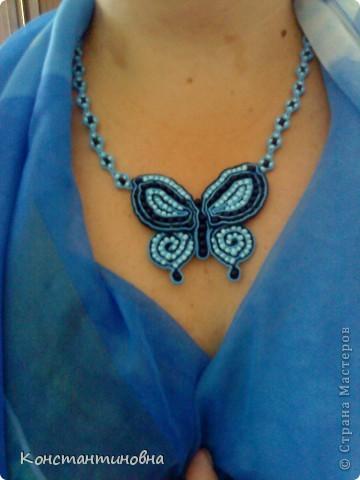 летний заказ сутаж-бабочка фото 1