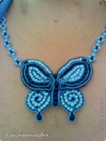 летний заказ сутаж-бабочка фото 2