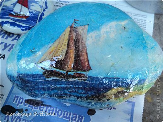 Вот и у меня дома появился кусочек моря. Думала, чем украсить еще палисадничек, эдаким необычным. фото 7