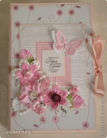 Подарочная коробка для свадебной книги фото 2