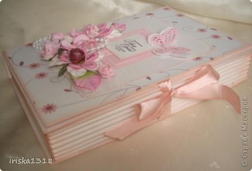 Подарочная коробка для свадебной книги фото 6
