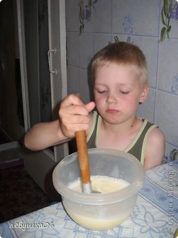 сегодня решили себя побаловать овощным тортиком), наш папа просил с колбаской-но лень было идти до магазина) фото 3
