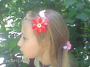 попробовали с дочкой делать цветочки канзаши. фото 5