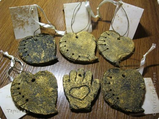 маленькие сувенирчики, приятные подарочки или просто милые ароматические подвески.  запах - мелисса, зверобой, лаванда. окрашены акрилом  фото 2