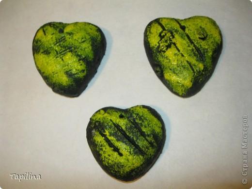 маленькие сувенирчики, приятные подарочки или просто милые ароматические подвески.  запах - мелисса, зверобой, лаванда. окрашены акрилом  фото 8