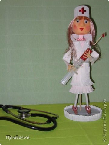 Здравствуйте! Сегодня в России отмечается День медицинского работника, и я решила, что именно в этот праздник я размещу эту свою работу. Знакомьтесь, это-Я! фото 12