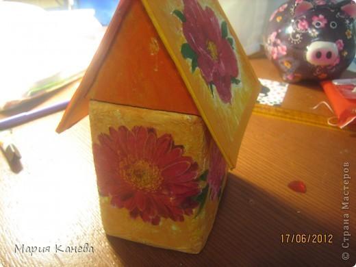 вот мой чайный домик.он немного недоделан но выложить его позже не будет возможности фото 5