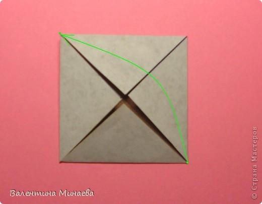 Оазис (Oasis)  автор: Валентина Минаева (Valentina Minayeva)  для бумаги с двусторонним эффектом  Для данной кусудамы брала размер бумаги 7,0 х 7,0 см  модули несимметричные, 60 штук  итог - 11,5 см  с клеем  Есть также видео: http://www.youtube.com/watch?v=LLzShYpQ6Uw&feature=youtu.be  фото 5