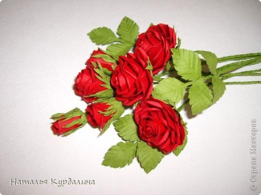 Розы по МК http://astoriaflowers.blogspot.com/2012/01/blog-post_7452.html#more фото 1