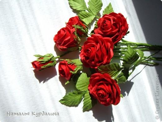 Розы по МК http://astoriaflowers.blogspot.com/2012/01/blog-post_7452.html#more фото 4