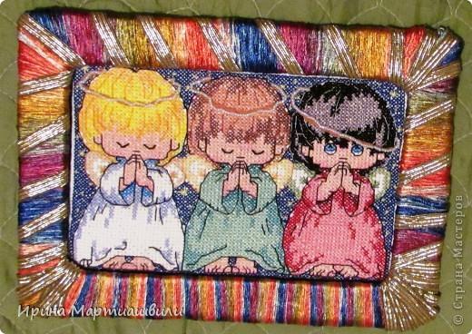 Три ангелочкав + 2 схемы фото 2