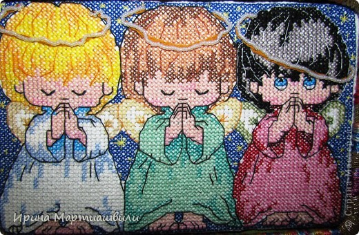 Три ангелочкав + 2 схемы фото 1