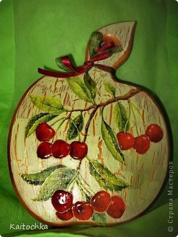 Спелые вишни фото 1