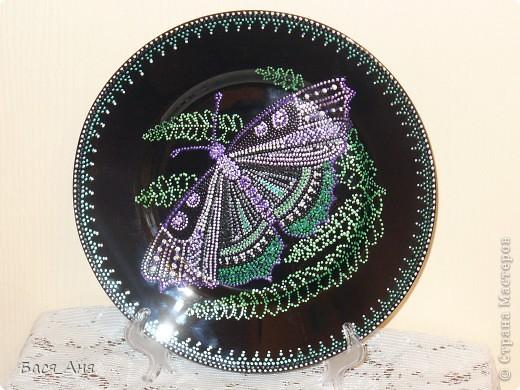 Очередная моя тарелочка. фото 2