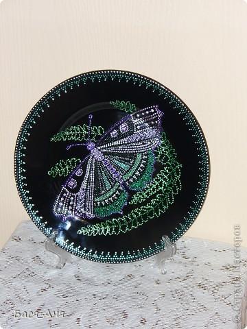 Очередная моя тарелочка. фото 1