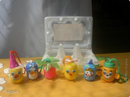 Поделки из яиц от киндера своими руками фото