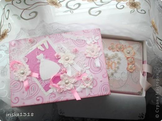 Подарочная коробка для свадебной книги фото 1