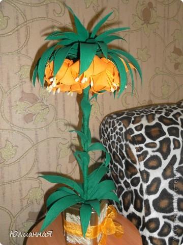 Рябчики королевские....Видела такой цветок в живую...очень мне понравился...вот и решила сделать такой же.. фото 2