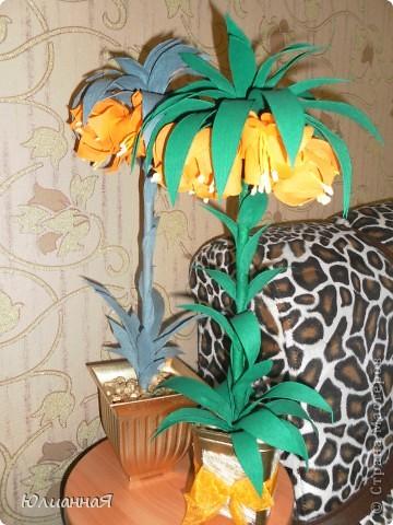 Рябчики королевские....Видела такой цветок в живую...очень мне понравился...вот и решила сделать такой же.. фото 1