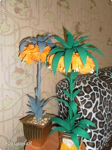 Рябчики королевские....Видела такой цветок в живую...очень мне понравился...вот и решила сделать такой же.. фото 4