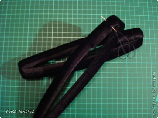 Мастер-класс Шитьё МК по изготовлению заколки д/волос Софист-о-твист Ткань фото 17