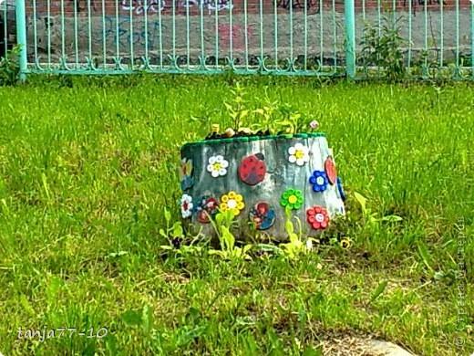 Украшали территорию детского сада(можно посмотреть прошлый год д/c) фото 4