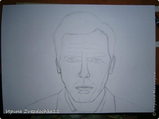 Нарисовано на А4, сделано не по уроку, просто срисовано с картинки фото 2