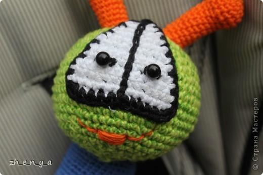 Гусеничка крючком фото 1