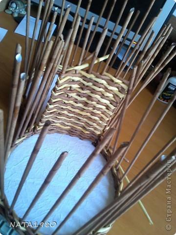 """Девушка, для которой я делала эту плетенку,изначально хотела корзинку,в которую собиралась складывать и бижутерию и много всего другого,,,вот и родилась идея """"сиамских близнецов"""" фото 4"""