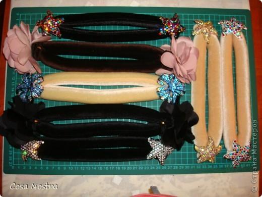 Мастер-класс Шитьё МК по изготовлению заколки д/волос Софист-о-твист Ткань фото 24