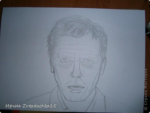 Нарисовано на А4, сделано не по уроку, просто срисовано с картинки фото 3