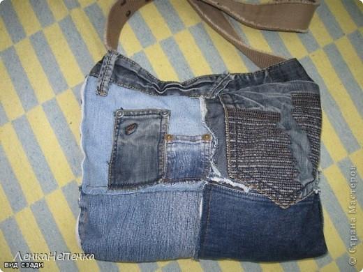 Моя любимая летняя сумка, сперва были конечно любимые джинсы))) Размер 35 Х 45 см, шесть кармашков. фото 4