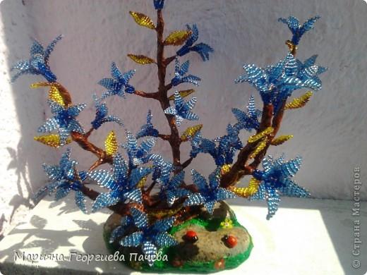 дръвчета от мъниста фото 6