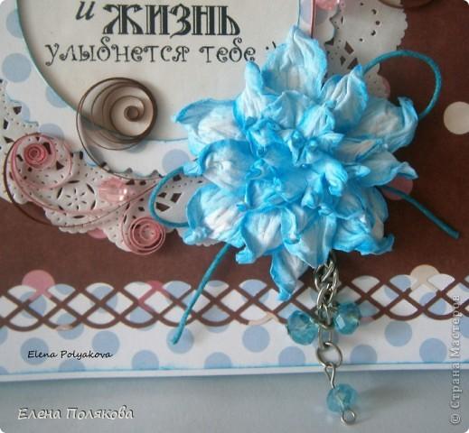 """А у меня сегодня шоколадницы! Большие, квадратные, с самодельными гардениями по МК Светланы Б.  - http://stranamasterov.ru/node/321021 (вот и я до них добралась :))) Первая Букет цветов"""" фото 7"""