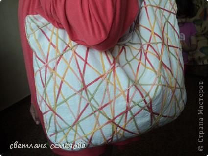 Вот такую сумочку сшила себе на лето. фото 1