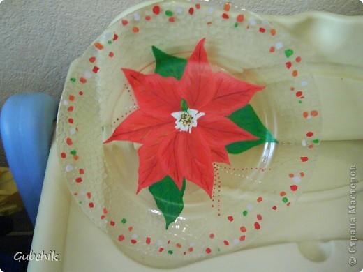 Вот такие у меня получились тарелочки фото 2