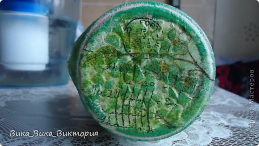 Баночка из под кофе теперь будет баночкой для зелёного чая)))По-моему очень она подходит для этой цели)) фото 3