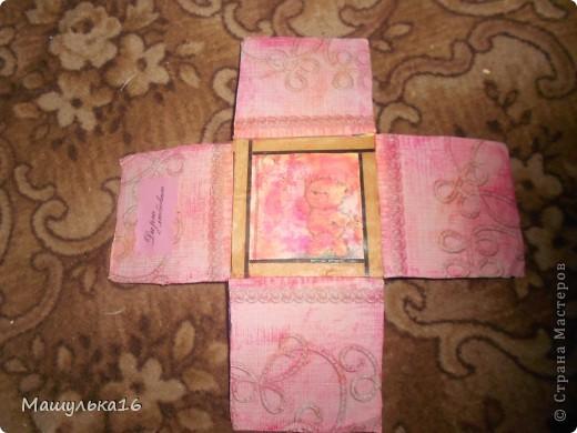 Моя коробочка.Я сделала ее в подарок на день рождение для подружки. фото 8