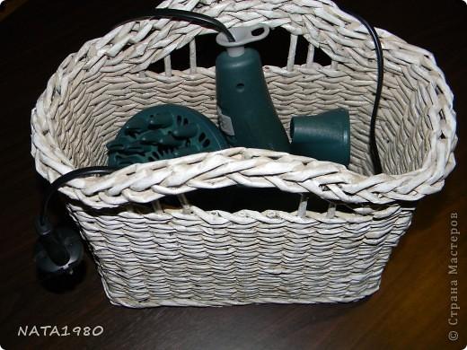 """Девушка, для которой я делала эту плетенку,изначально хотела корзинку,в которую собиралась складывать и бижутерию и много всего другого,,,вот и родилась идея """"сиамских близнецов"""" фото 8"""