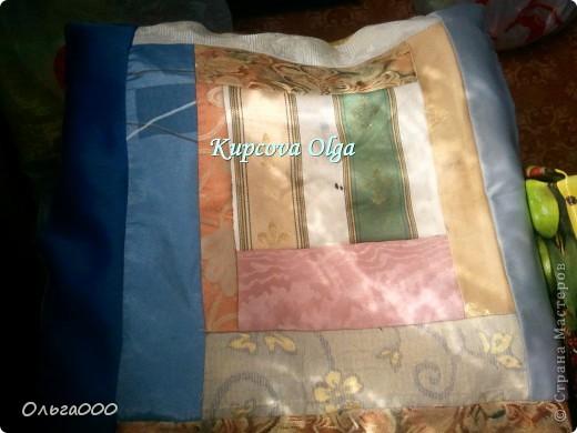 Пэчворк подушечка фото 2