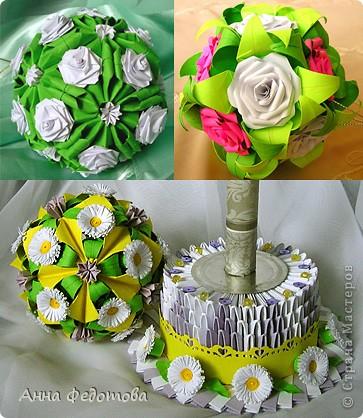 Очень люблю кусудамы с цветами! фото 1