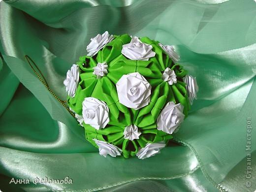 Очень люблю кусудамы с цветами! фото 3