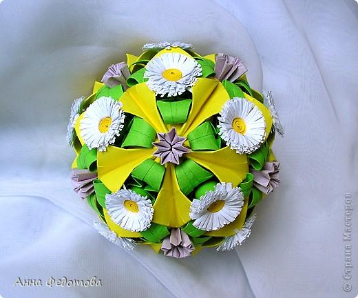 Очень люблю кусудамы с цветами! фото 4