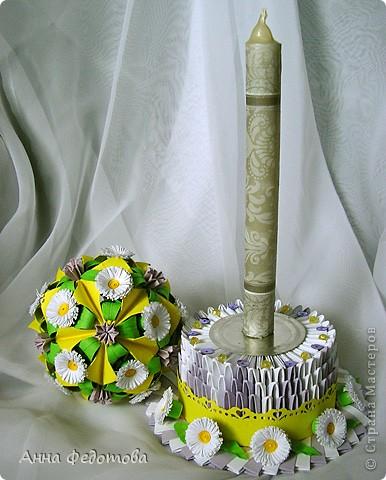 Очень люблю кусудамы с цветами! фото 5