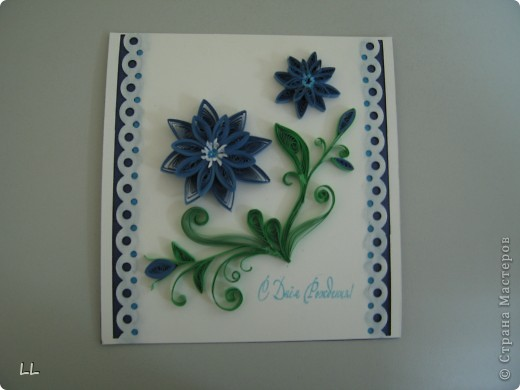 синие цветы фото 2