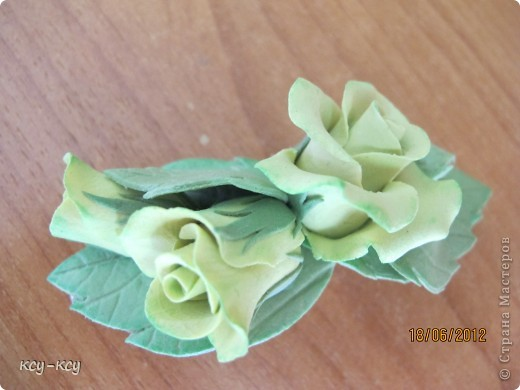 Заколочки .... и ободки....с цветами... фото 6